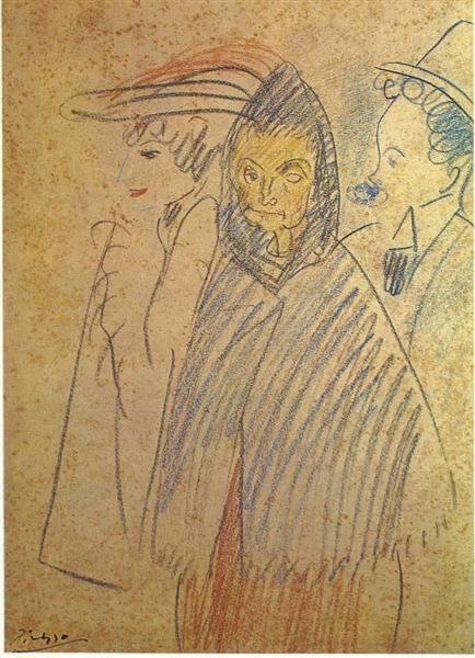 """Pablo Picasso, """"Celestina"""", 1904"""