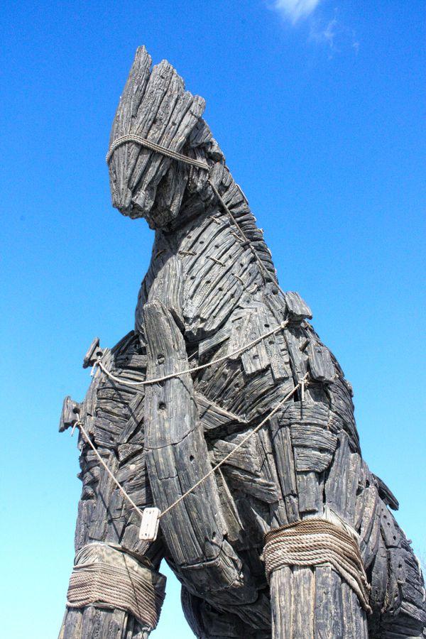 troya horse Çanakkale/Turkey