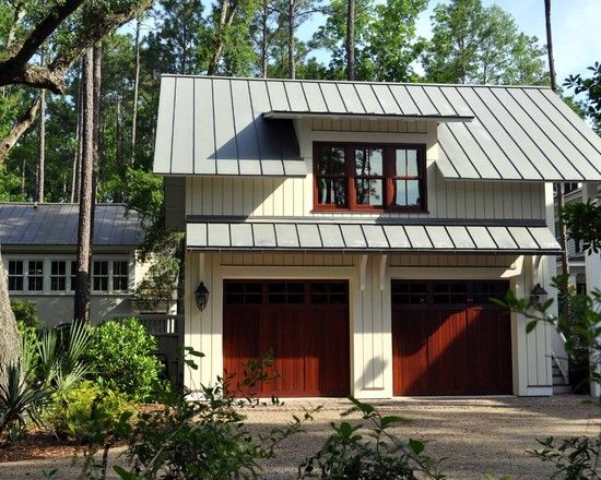 13 best images about detached garage ideas on pinterest for Metal building garage apartment