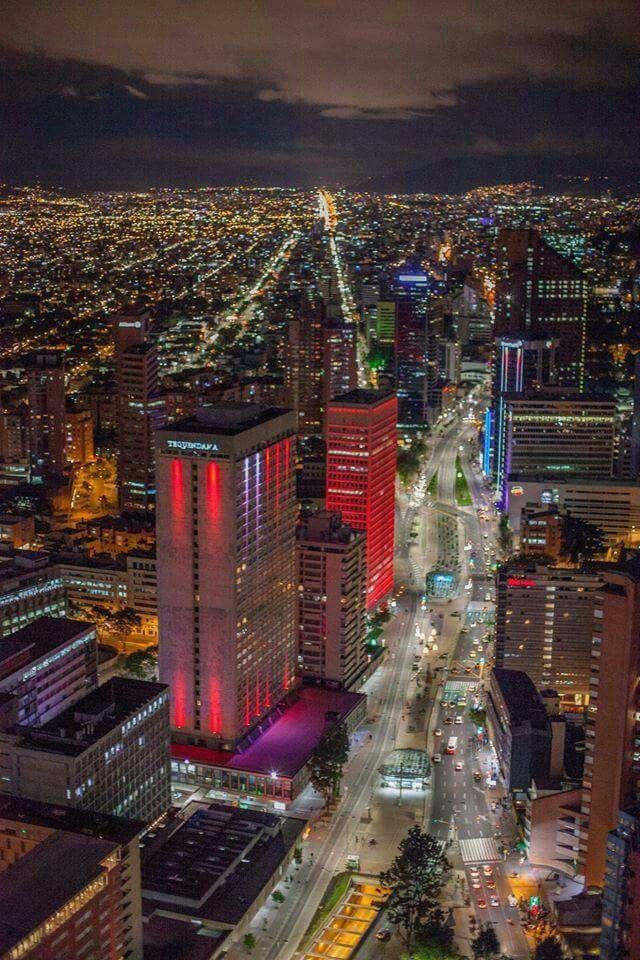 Mi Bogota nocturna!!!