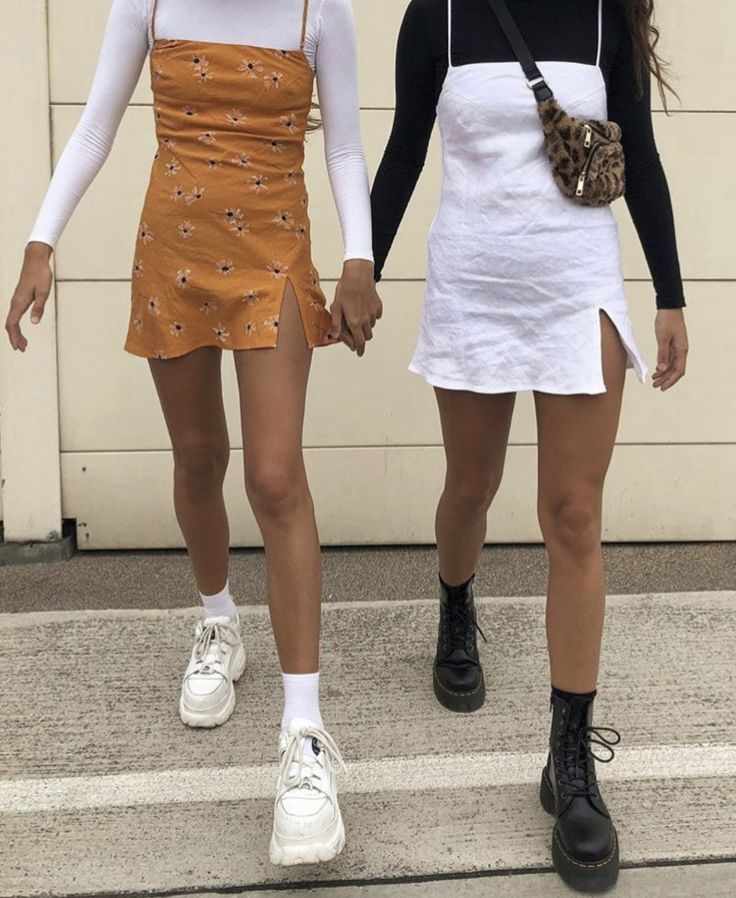 layered mini dresses