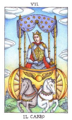 Fortuna's Wheel. 22 Major arcana deck by Nigel Jackson. Source: The Artwork of Modern Tarot - Limited edition decks for sale
