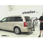 Thule Hitch Bike Racks Review - 2013 Chrysler Town and Country Video | etrailer.com
