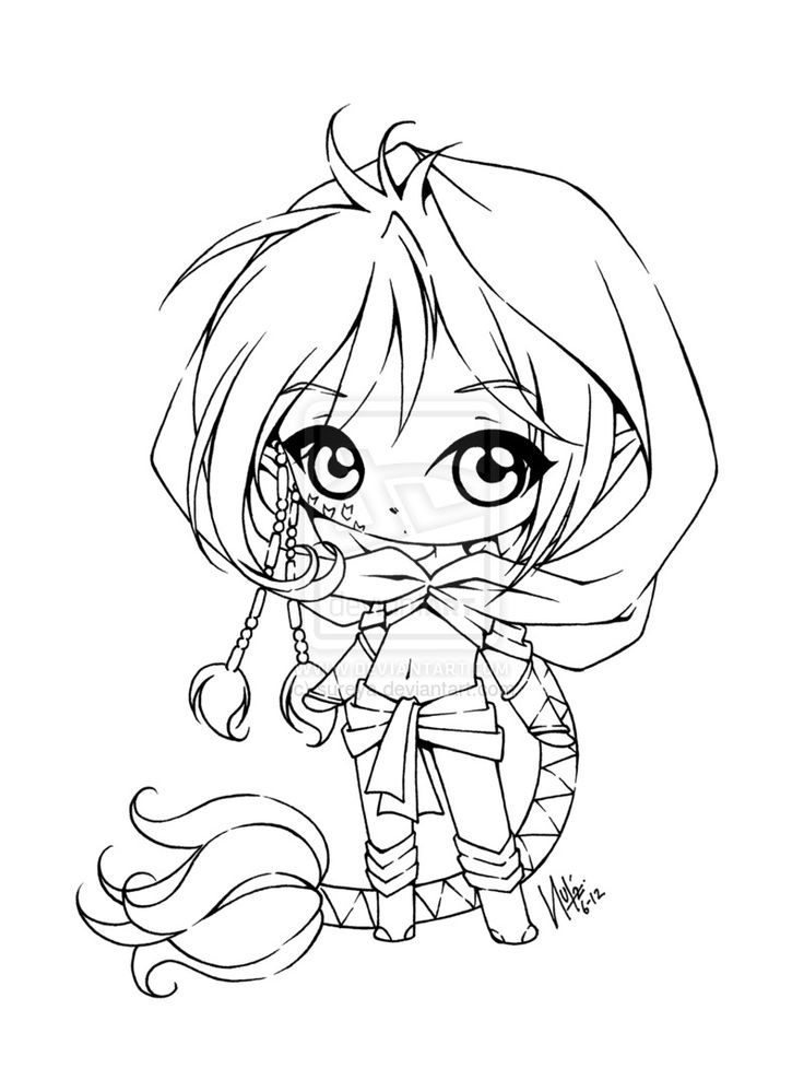 anime coloring pages deviantart outgoing - photo#36