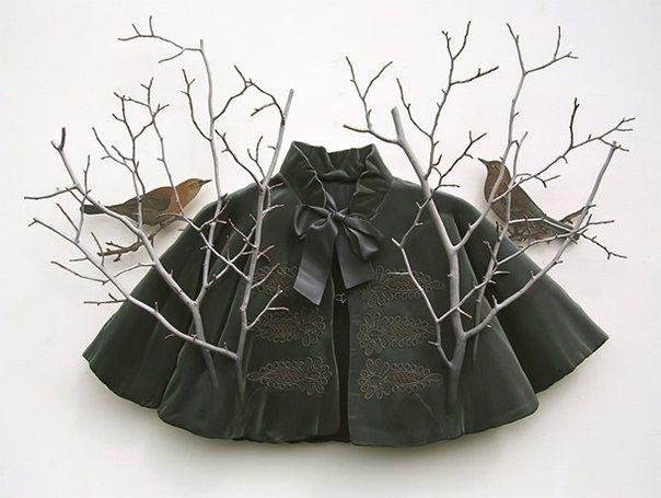 Деревянная мода Рона Иссак