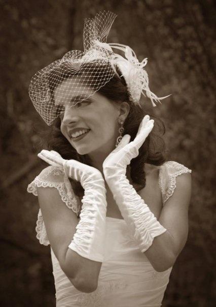 Vintage Styled Bride