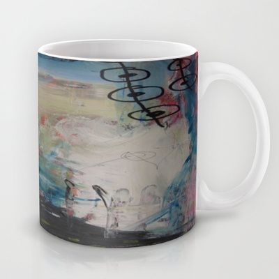 colors of the week - wednesday Mug by Helle Pollas - $15.00