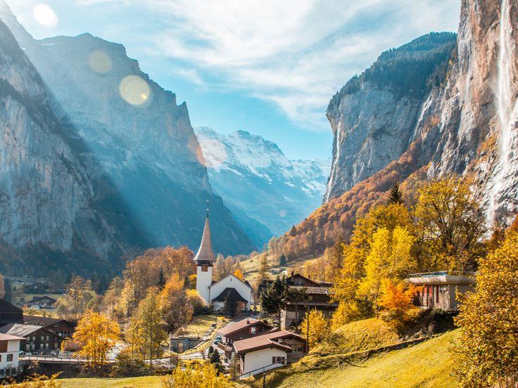 Lauterbrunnen in Berner Oberland in 2020 Watervallen