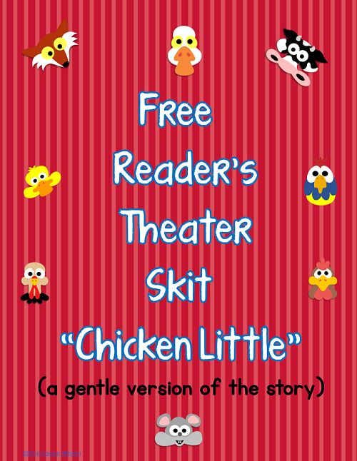 Blog post at Wise Owl Factory : Free Readers' Theater PDFs These free Readers' Theater printablesand educational resources mostly open right here, andone is a link to [..]