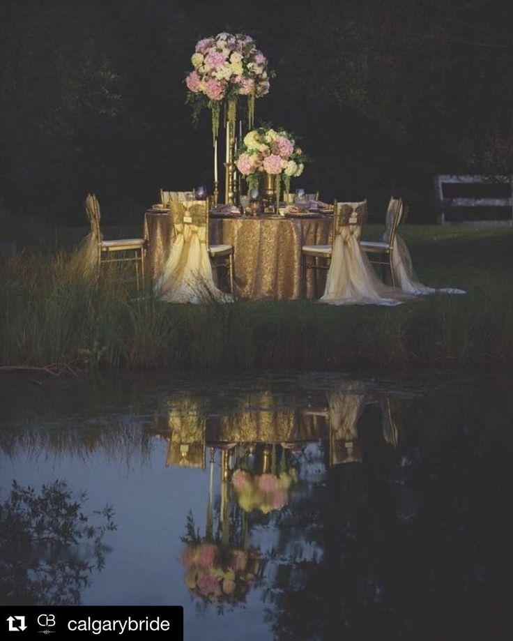 Outdoor Wedding Ceremony Calgary: #Repost @calgarybride Outdoor Wedding Receptions Get