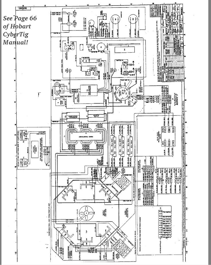 yamato welding machine wiring diagram