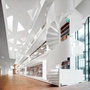 Kaan+Architecten+adds+study+centre+to+a+hospital+part-designed+by+Jean+Prouvé