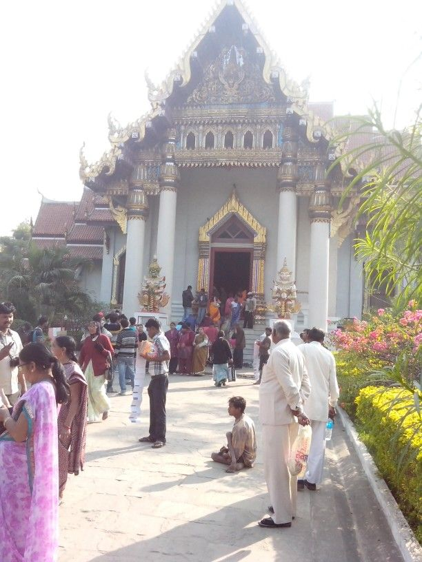 Thailand temple at Bodhgaya