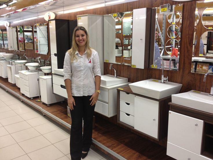 Nossa promotora Mônica na loja Ferreira Costa em Recife - Imbiribeira