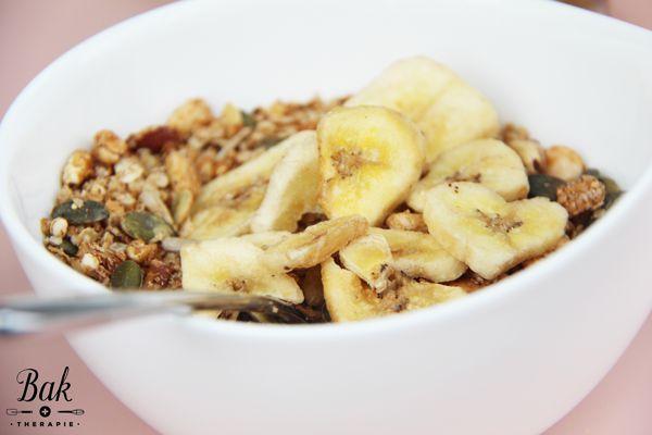 Gezonde granola met noten recept - Baktherapie.nl
