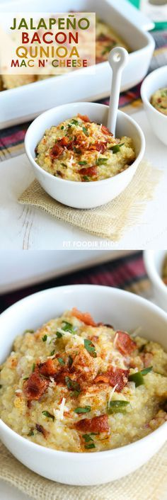Jalapeño Bacon Quinoa Mac n' Cheese  + Ancient Harvest Modern Meal Cook-Off