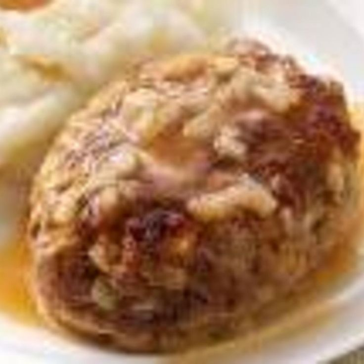 HEARTY SALISBURY STEAK