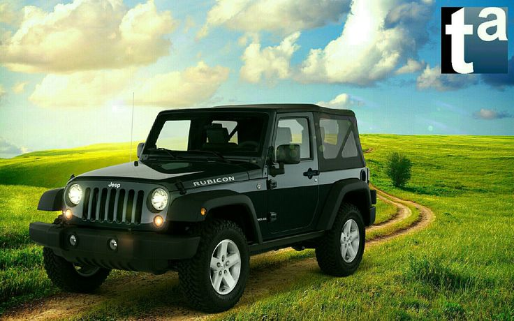 050 - SPRING SCENE  #Jeep #Wrangler Rubicon #SUV 2010 #Automotive