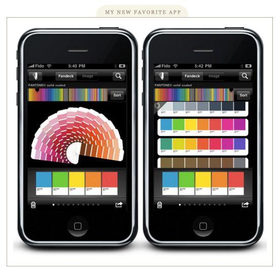 Pantone App for iPhone!