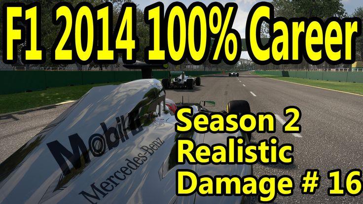 F1 2014 Gameplay PC : 100% Race USA 1080p HD F1 Game Career Mode Season 2.