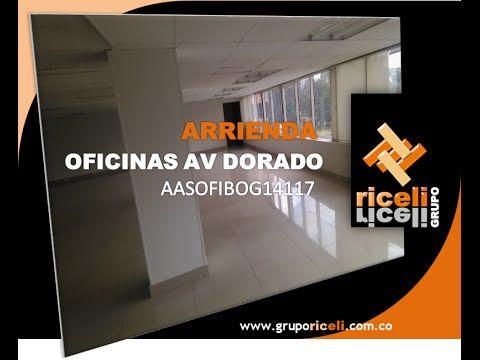 ARRIENDO OFICINAS EDIFICIO AV DORADO AASOFIBOG14117 RECORRIDO