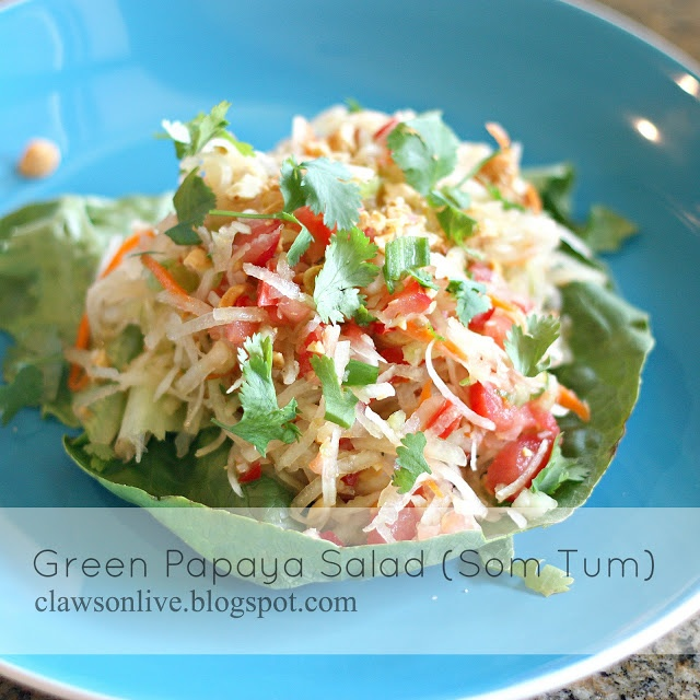 Green Papaya Salad = so freaking delicious!