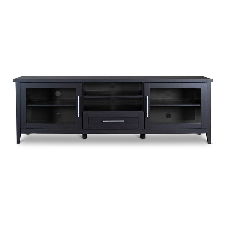 baxton studio espresso tv stand one drawer