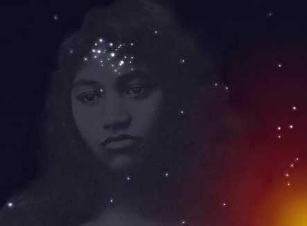 Matariki's themes are stars, harvest and peace. Her symbols are stars and the number 7. In Polynesian tradition, this Goddess and Her six children became the Pleiades, and they continue to help humans by showing us when to begin harvesting the labors of hand or heart.