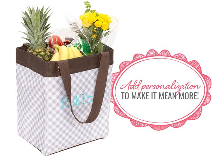 Essential storage tote in taupe gingham add for What does taupe mean
