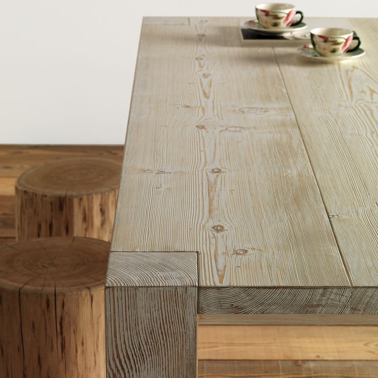 Tavolo in legno Essence wood