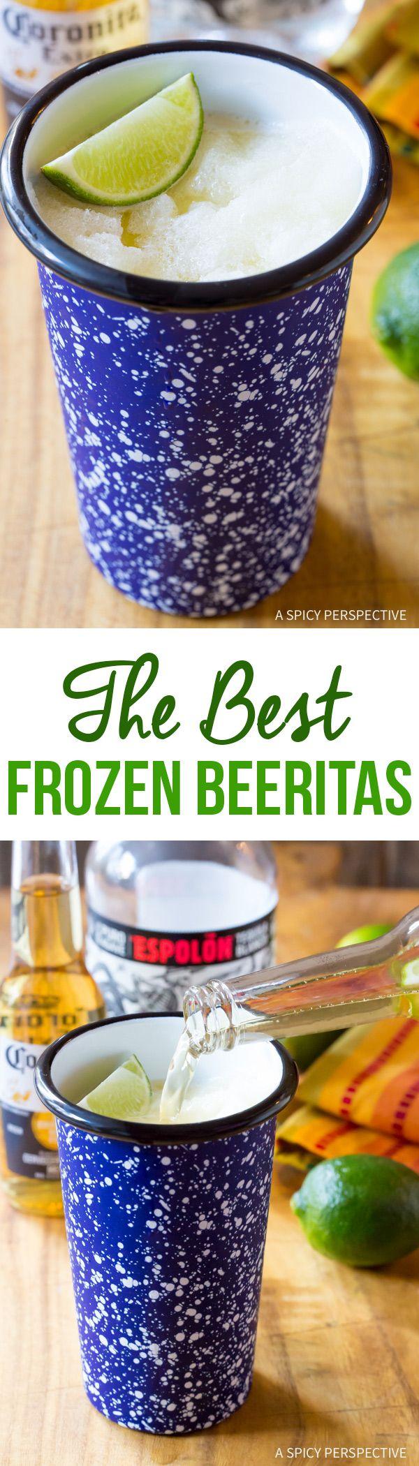 The Best Frozen Beeritas Recipe #CincoDeMayo via @spicyperspectiv