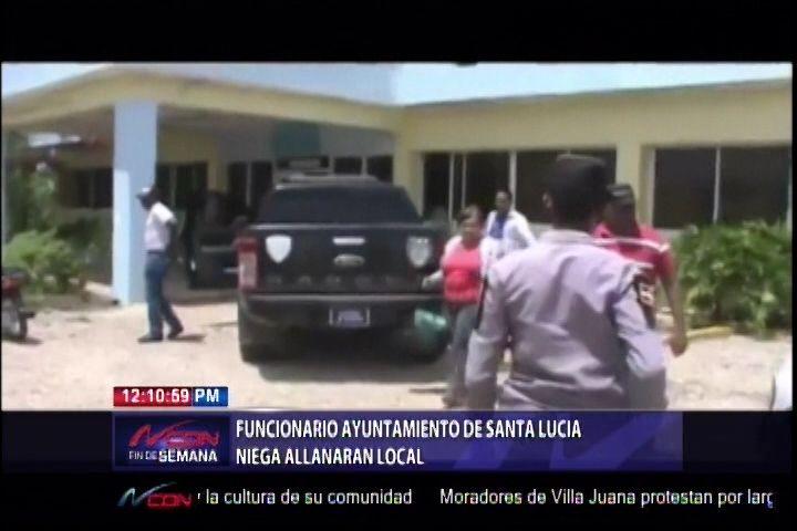 Funcionario Del Ayuntamiento De Santa Lucía Niega Allanamiento De Local