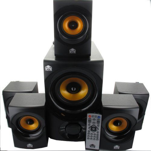 Acoustic Audio AA5170 Home Theater 5.1 Bluetooth Speaker System 700W With
