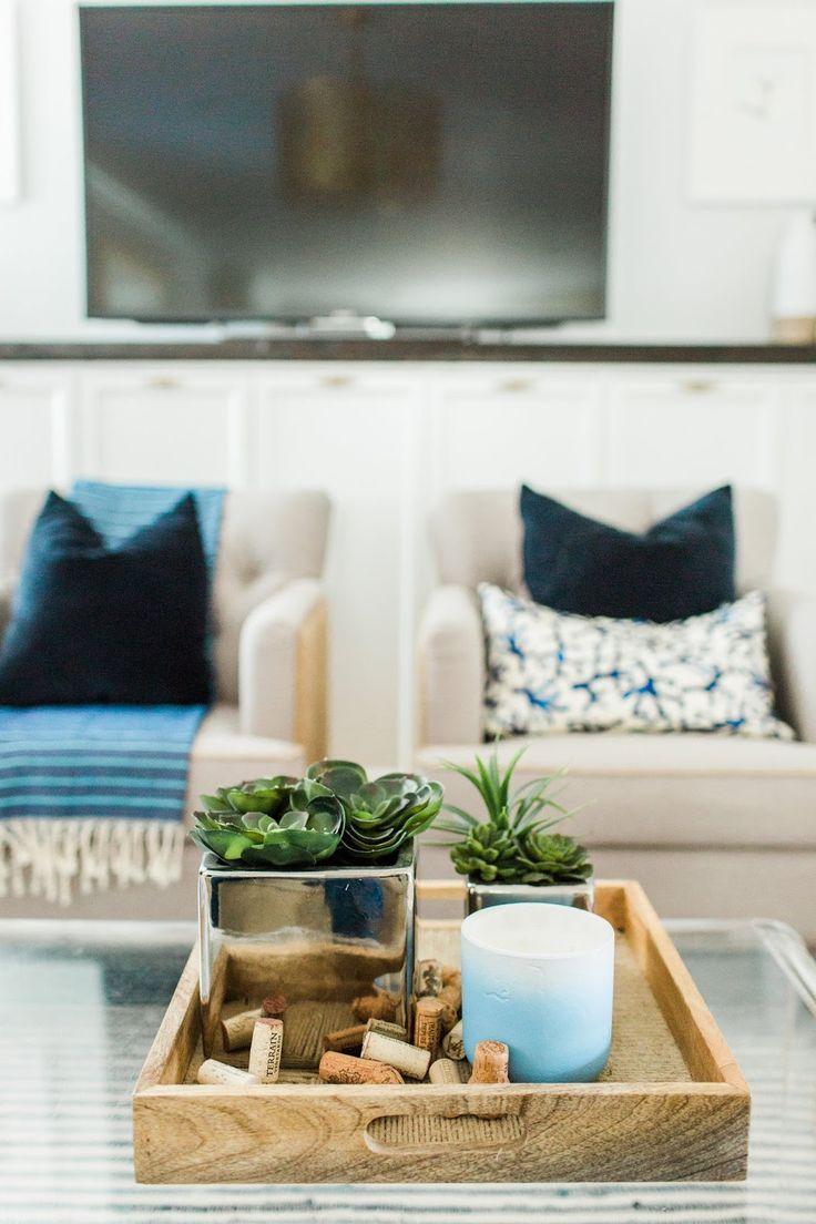 Boho Coastal Living Room Reveal Coastal Living Rooms Boho