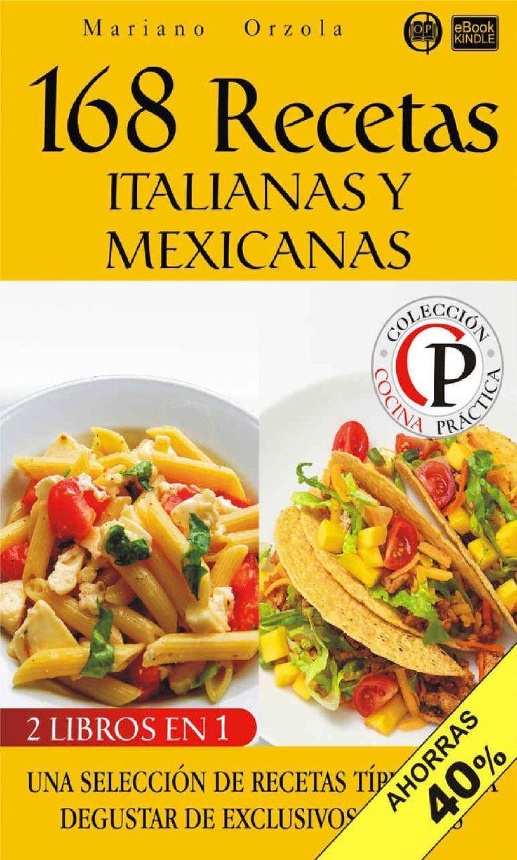 168 recetas italianas y mexicanas