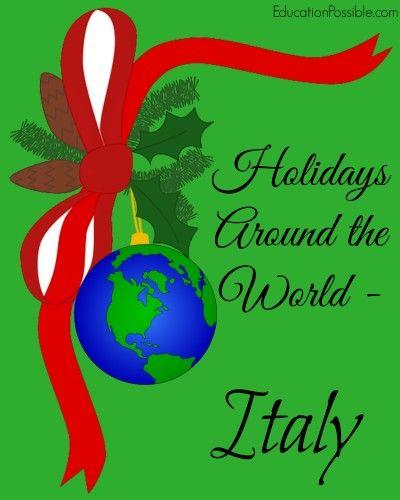 Holidays Around the World: Italy @EducationPossible.com