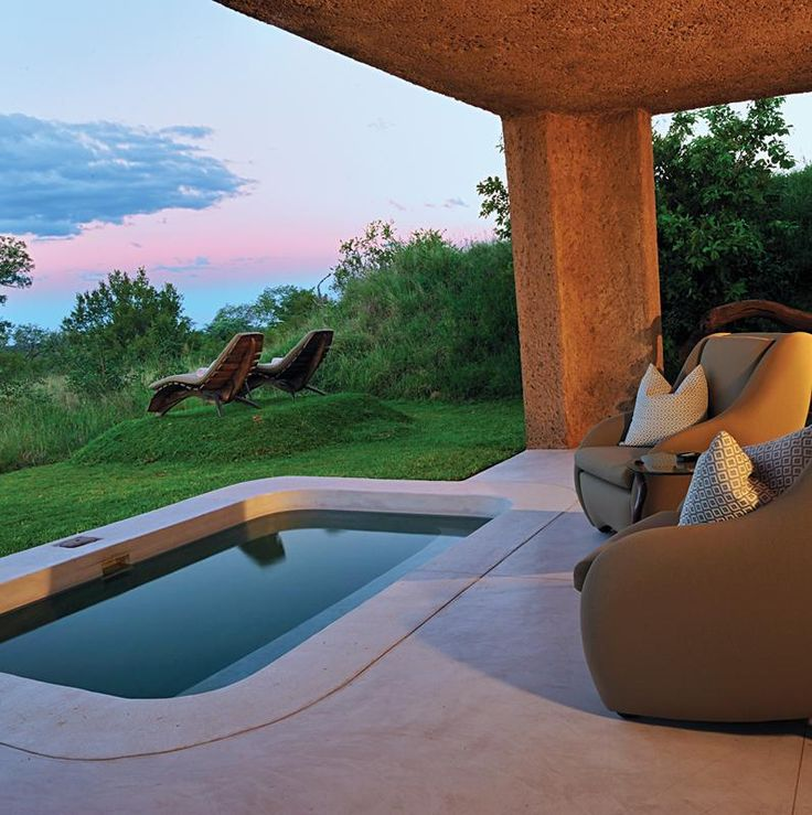 Sexy honeymoon resort with a private plunge pool - South Africa
