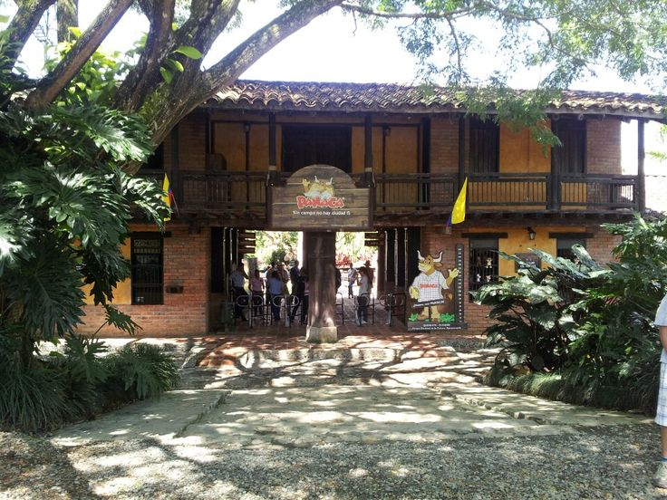 Parque Panaca in Quimbaya, Quindío