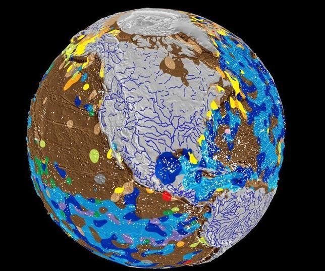 Científicos crean el primer mapa digital del fondo marino