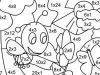 kleurplaat keersommen groep 5 25 beste ideen tafel