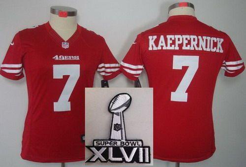 los angeles 05c70 3873d usa 7 limited colin kaepernick san francisco 49ers super ...