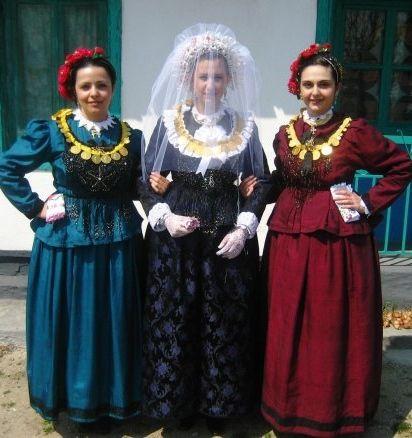 Traditional bride/ traditional costumes from Nea Vyssa, Evros, Greece.
