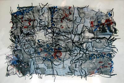 Jean Paul Riopelle, Abstraction 1