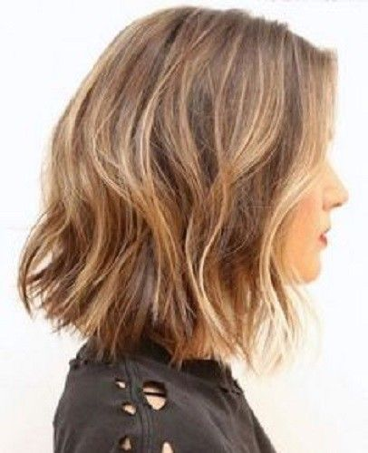 Haircut Styles For Long Thin Hair: Wear A Deconstructed Bob In 2019