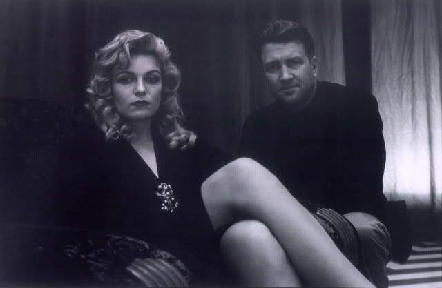 Young David Lynch and Laura Palmer (Sheryl Lee) Fire walk with me