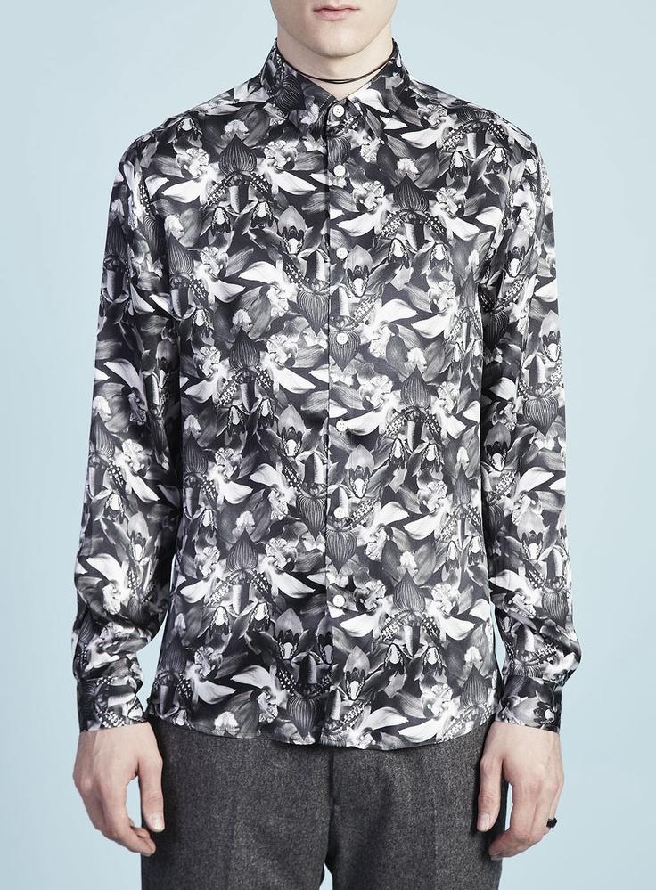 Silk Orchid Shirt | Topman Design