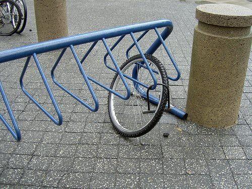 Cycling oooops....