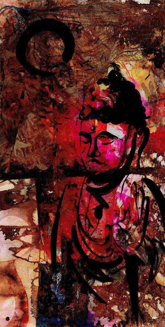 Original Enso Zen Painting Throw Pillows: 17 Best Images About Zen Spirit & Enso, Zen Circles On