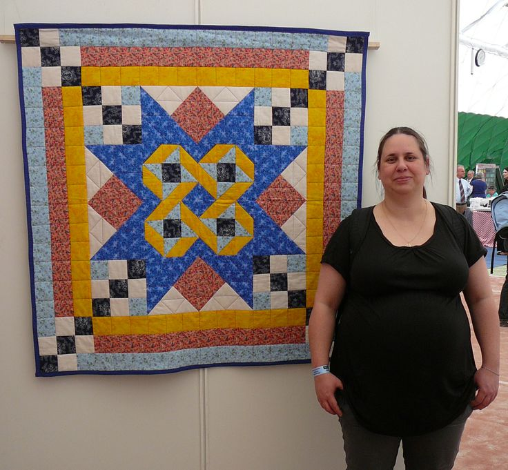 My mystery quilt on PPM 2011 (and my future son)