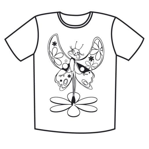 kostenlose malvorlagen tshirt shirts
